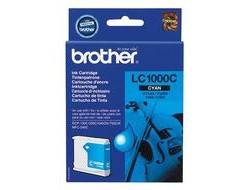 Tinte f. Brother MFC-660 [LC-1000C] cyan