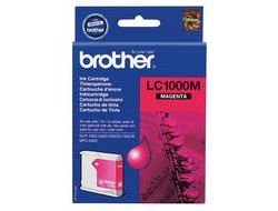 Tinte f. Brother MFC-660 [LC-1000M] magenta