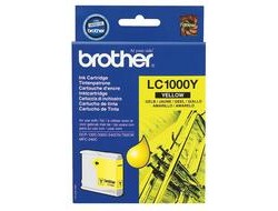 Tinte f. Brother MFC-660 [LC-1000Y] yellow