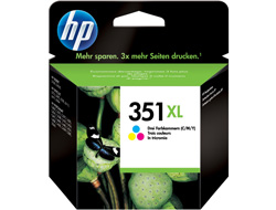 Tinte f. HP Deskjet 4260 [CB338E] Nr.351XL color