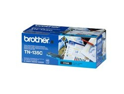 Toner f. Brother HL-4070/9040 [TN-135C] HC cyan