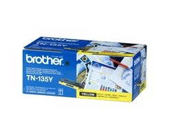 Toner f. Brother HL-4070/9040 [TN-135Y] HC yellow