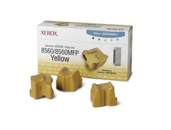 Tinte f. Xerox Phaser 8550/8560 [108R00725] Solid Ink 3er VE yellow
