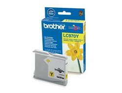 Tinte f. Brother MFC-235/260 [LC-970Y] yellow