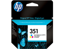 Tinte f. HP Deskjet 4260 [CB337E] Nr.351 color