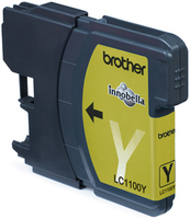 Tinte f. Brother MFC-6490CW [LC-1100Y] yellow