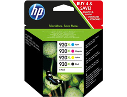 Tinte f. HP Officejet 6500 [C2N92A] HC Nr.920XL Multipack black, cyan, magenta, yellow