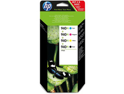 Tinte f. HP Officejet Pro 8500 [C2N93A] HC Nr.940XL Multipack black, cyan, magenta, yellow