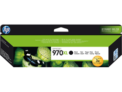 Tinte f. HP Officejet Pro X451/X476/X551/X576 [CN625A] HC Nr.970XL black