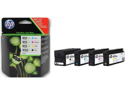 Tinte f. HP Officejet Pro 8100 [C2P43A] Nr.950XL/Nr.951XL Multip. black, cyan, magenta, yellow